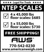 NTEP SCALES