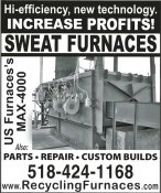 Sweat Furnaces | Recycling Services Intl.