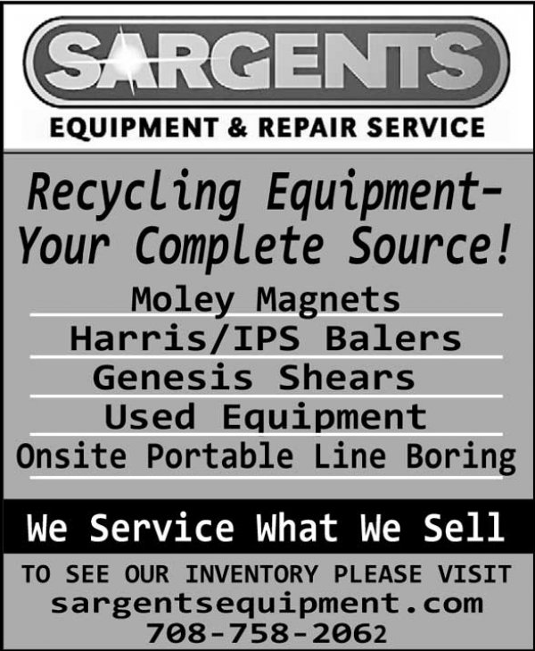 Your Complete Source for Recycling Equipment | Sargents Equipment