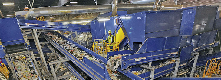 Advanced mixed waste MRFs tackle diverse challenges