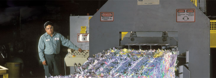 Paper and plastic recycling holding steady