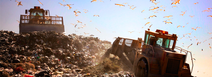 Landfill usage and its impact on the industry