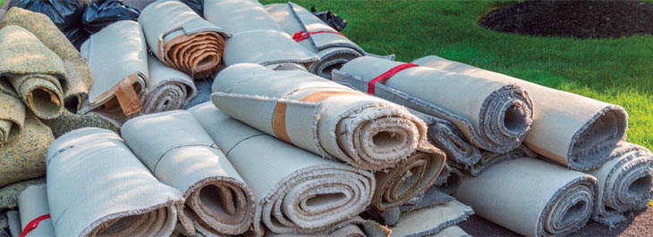 Carpet recycling increases much needed landfill space